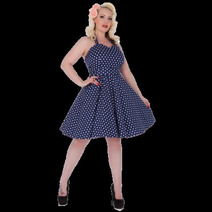 Penny Dress Navy Blue