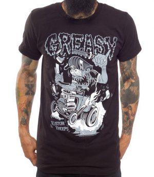Greasy