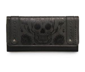 Black Skull Wallet