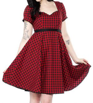 Marcy Dress red