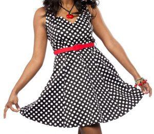 Polka Dot Floozy Dress