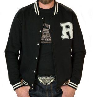 College Jacket (black/black)