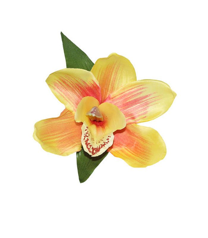 siobhan_orange_orchid_hair_flower