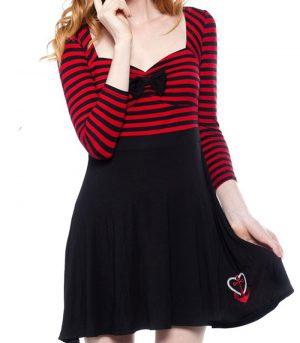 Rockabilly klänning kläder dam