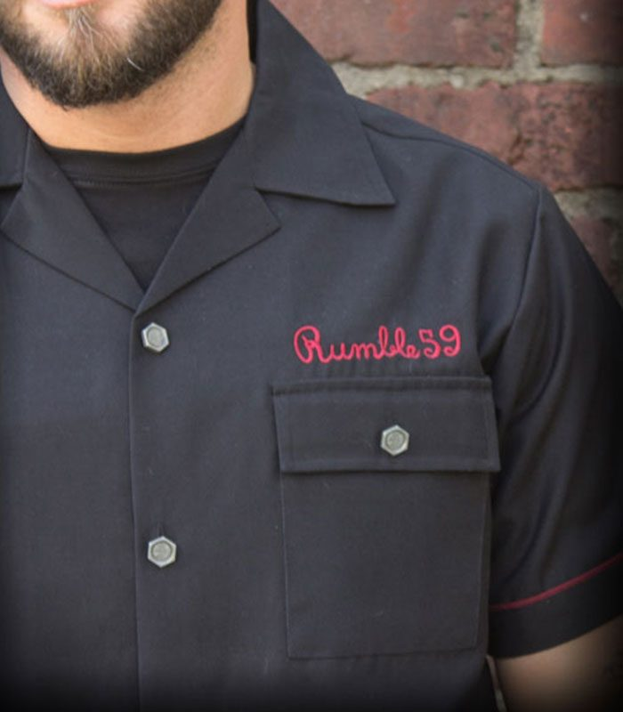 rumble59_worker-shirt_rnr-until-i-die_vorne-detail
