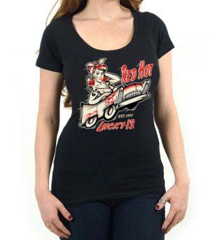 Lucky 13 rockabilly kläder dam.
