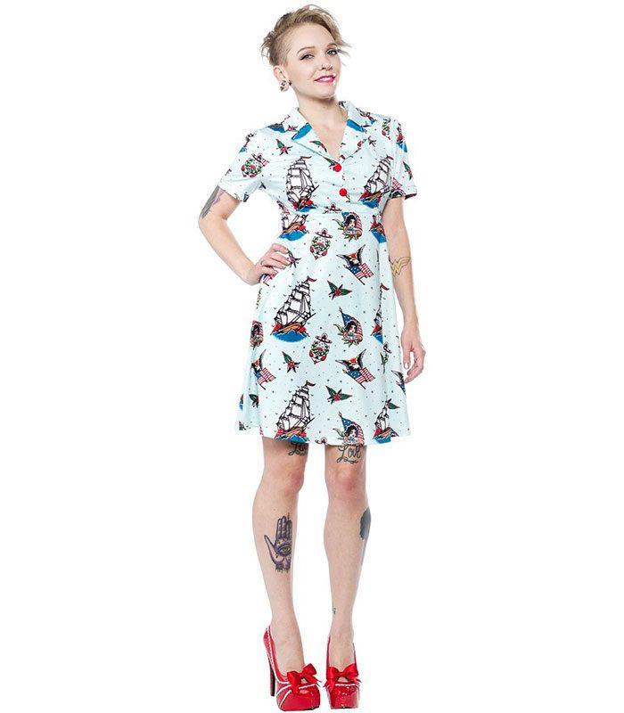 Rockabilly klänning