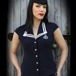 Rumble59 Sailor skjorta dam