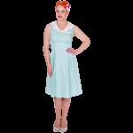 Sally Dress Aqua
