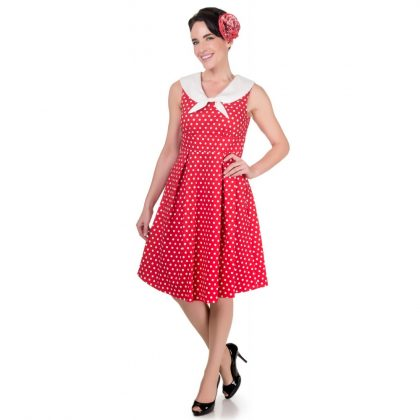 Sally Dress Red