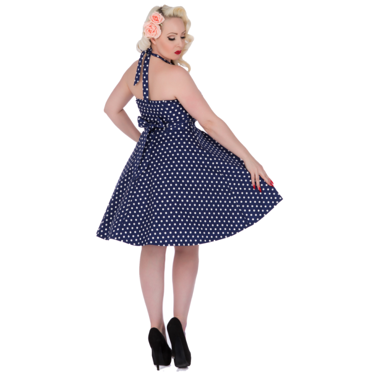 Penny Dress Navy Blue