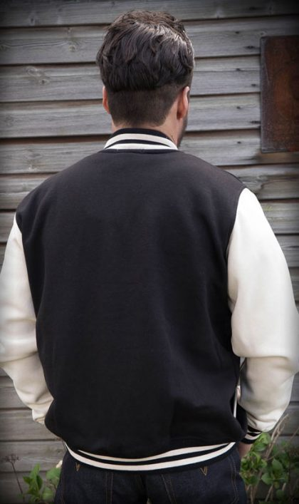 College Jacket (black/white)