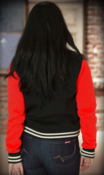 College Jacket (black/red)