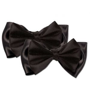 Small Satin Hair Bow