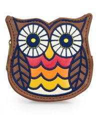Loungefly - Denim Owl Coin Purse