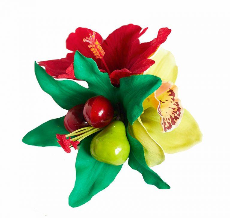 Tallulah Fruit Hair Flower Piece