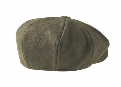 Moss Green Newsboy Cap