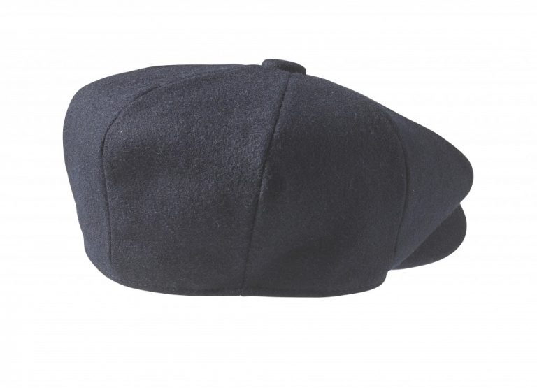 Navy Newsboy Cap