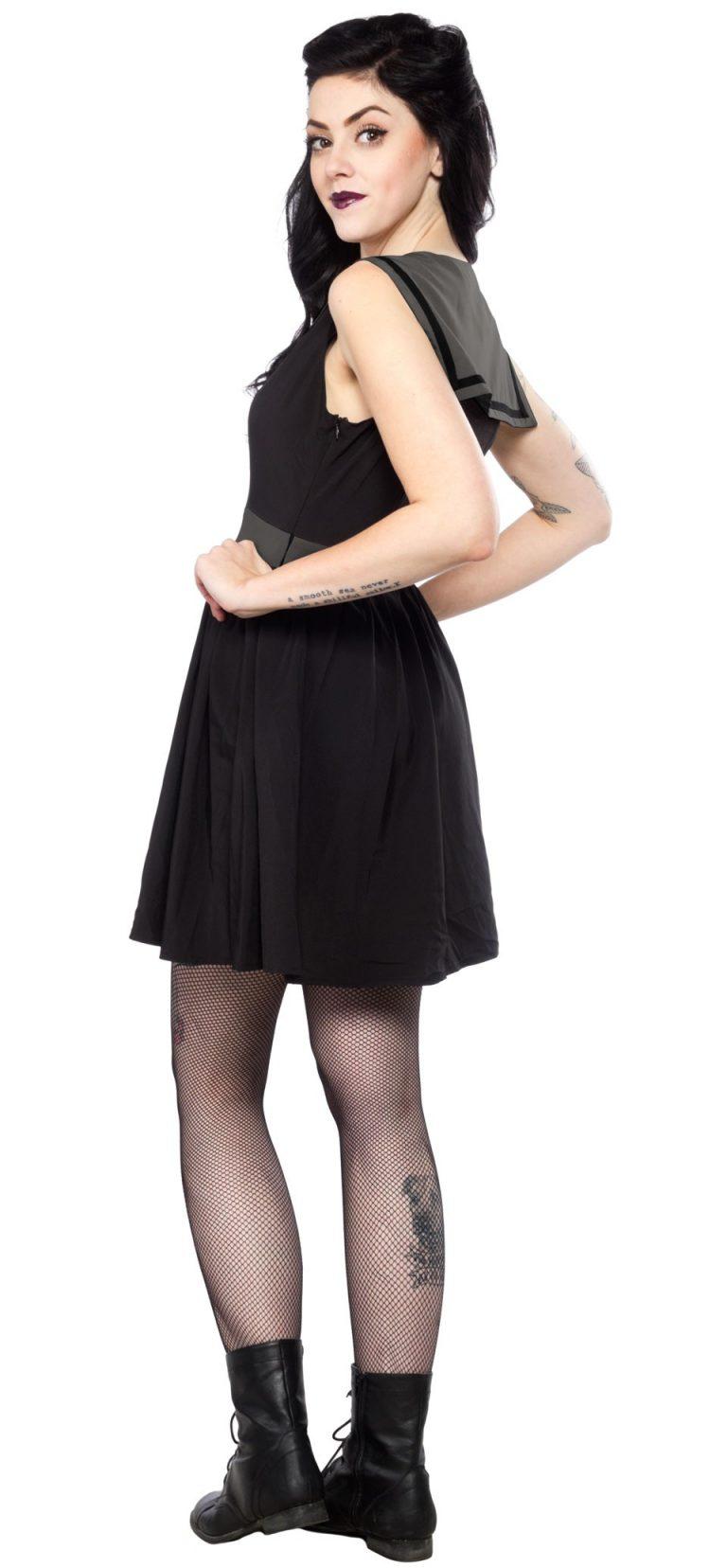 Dark Sailor Dress