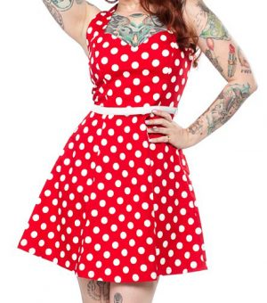 Polka Dot Floozy Red