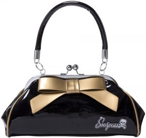Floozy Purse Black/Gold