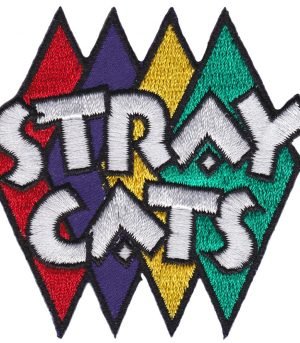 Stray Cats Diamond Patch