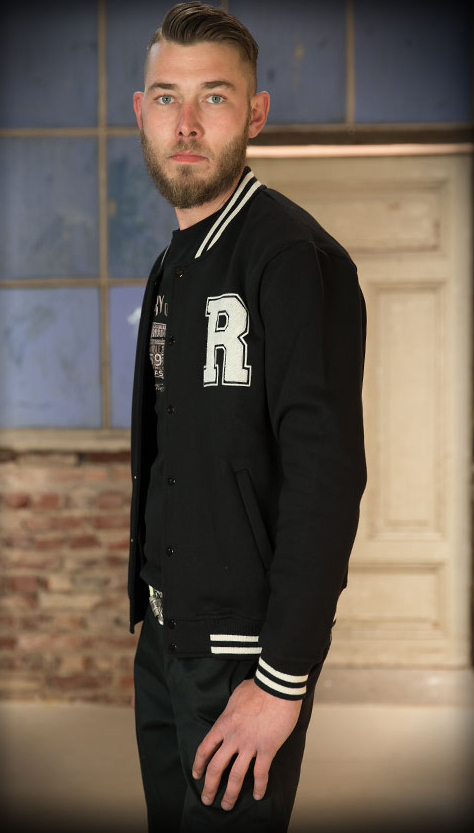 College Jacket (black/black)