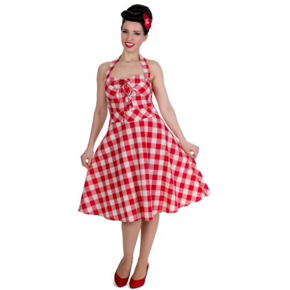 Rosie Dress Red