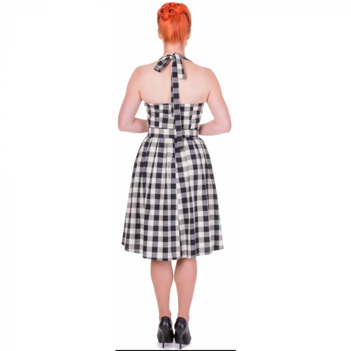 Sophie Dress Checkered Black