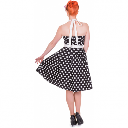 Sophie Dress Dots Black