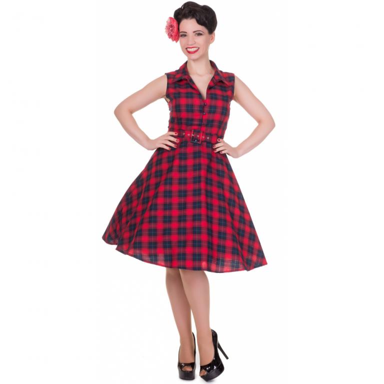 Poppy Dress Red