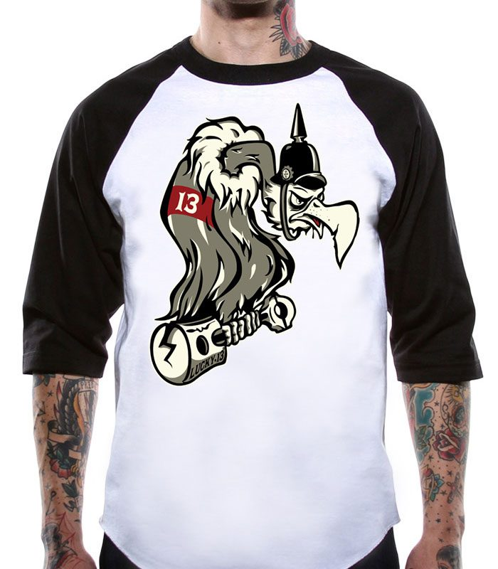 Lucky 13 t-shirt herr kläder