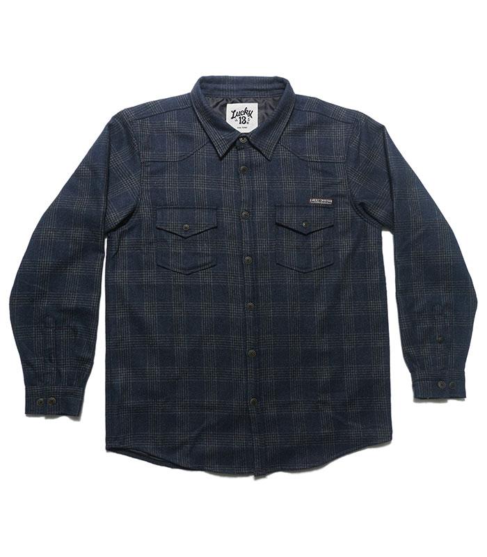 Lucky 13 kläder herr skjorta