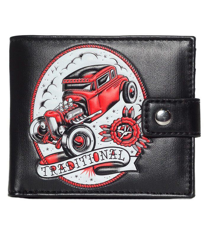 Kustom Kreeps plånbok.
