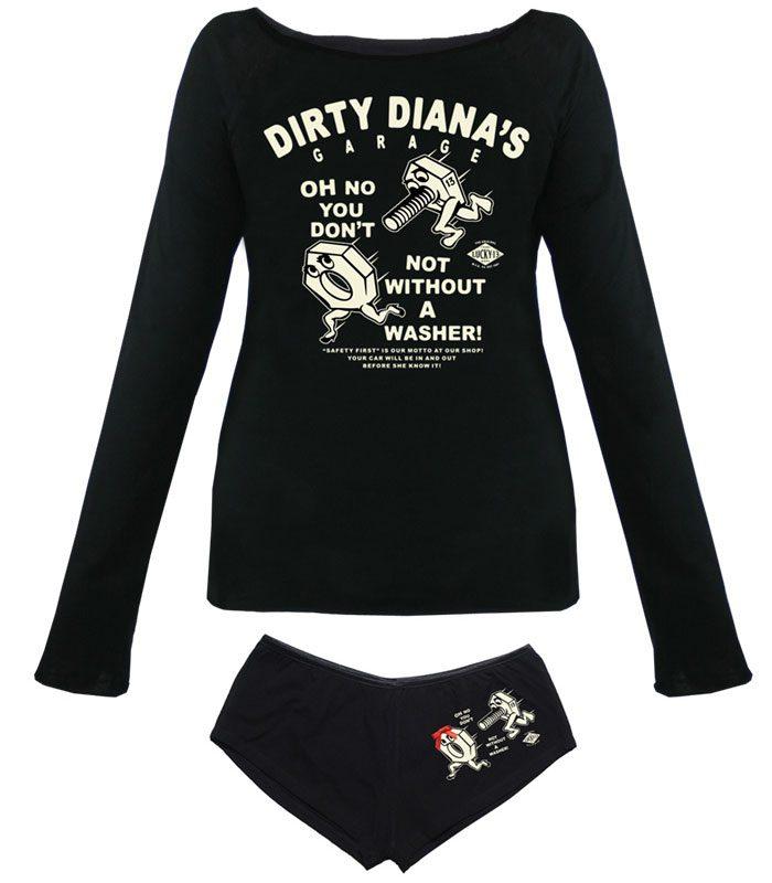Lucky 13 rockabilly kläder dam