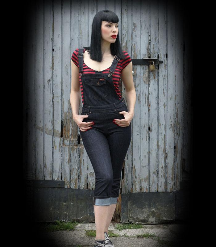 c00b60dbd98a Hängselbyxor dam rockabilly. Rockabilly tøj på EMP Rock 'n' Roll Online Shop !