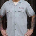 Rockabilly skjorta herr