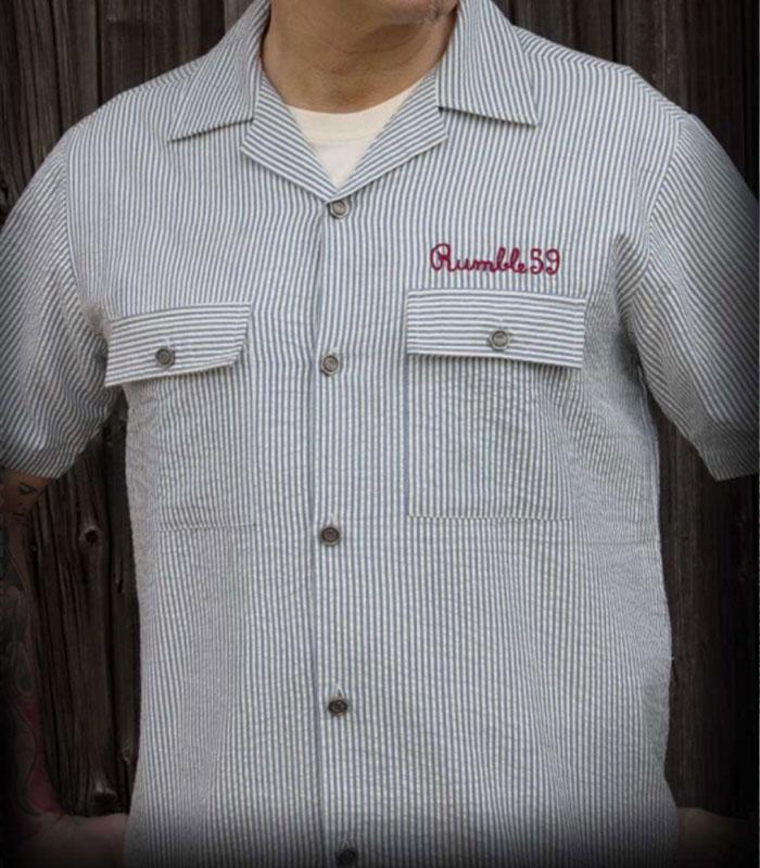8b5e204947ef Rumble59 - Skjorta - Retro Rockabilly kläder herr - www.nitrohead.se