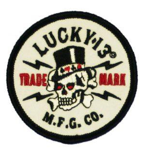 Lucky 13 tygmärke