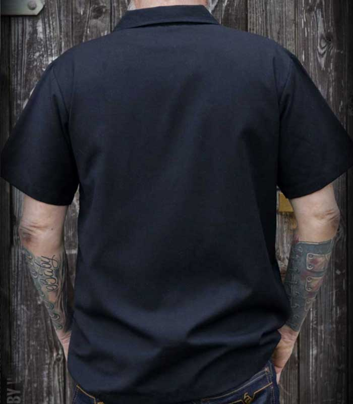 9b54a81f20b8 Sound of Rock'n'Roll Shirt bordeaux - Nitrohead.se