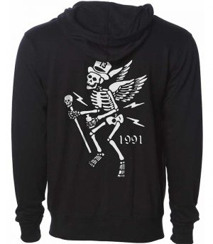 Lucky 13 kläder hoodie